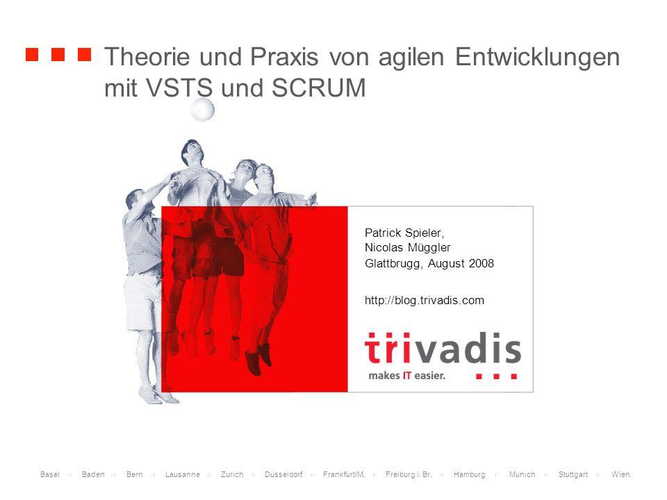 Basel · Baden · Bern · Lausanne · Zurich · Düsseldorf · Frankfurt/M. · Freiburg i. Br. · Hamburg · Munich · Stuttgart · Wien Theorie und Praxis von ag