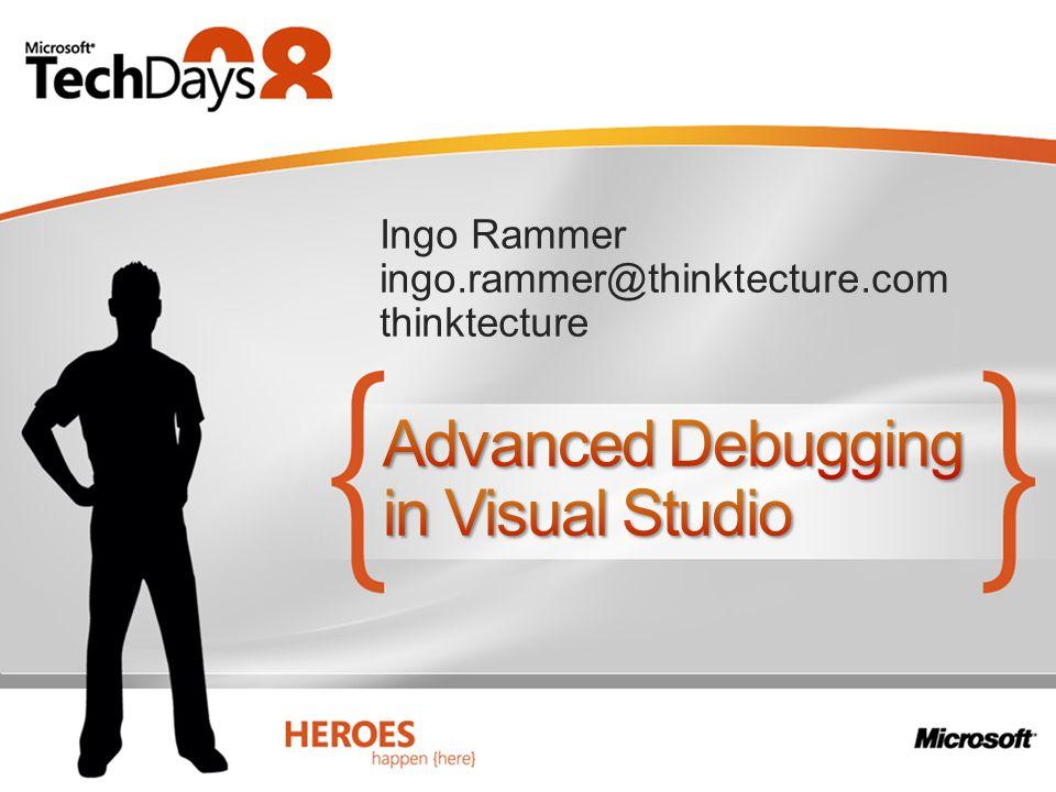 Ingo Rammer ingo.rammer@thinktecture.com thinktecture
