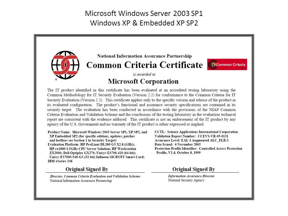 Microsoft Windows Server 2003 Zertifikatsserver