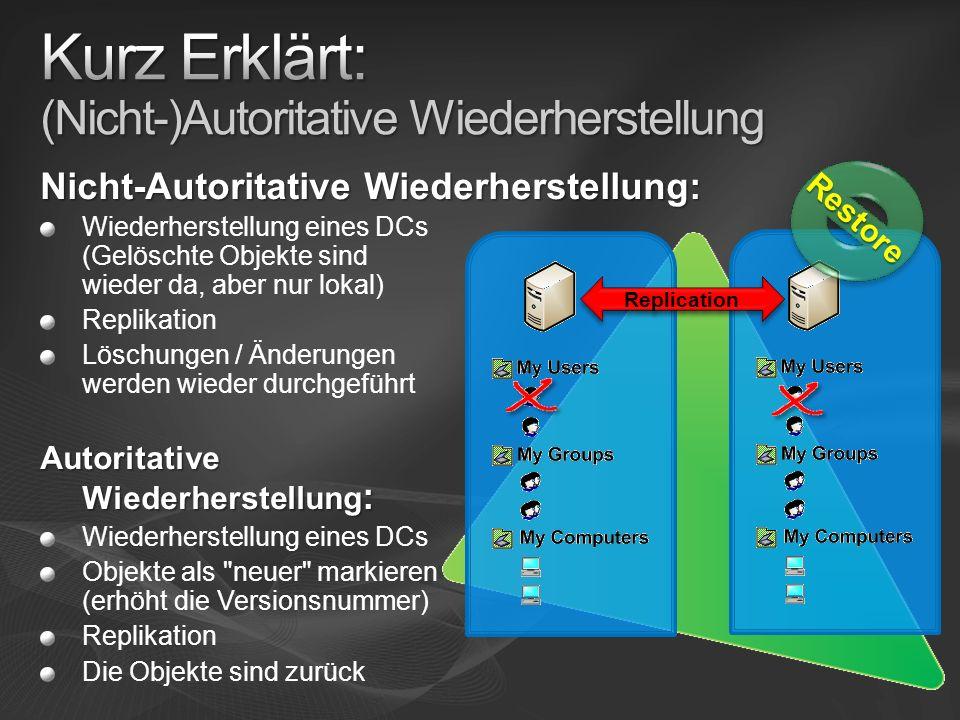 Forward- / Backlinks Zum Beispiel Gruppen- Mitglieder vs.