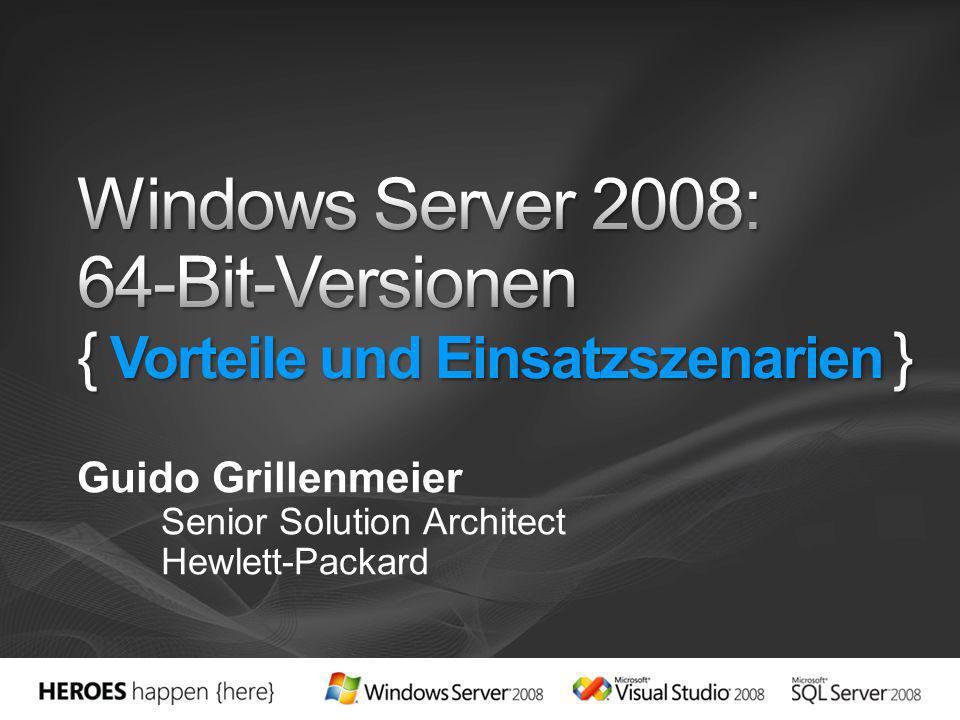 Microsoft committed zu x64 und Itanium Source: Directions on Microsoft http://www.redcomm.com http://www.redcomm.com