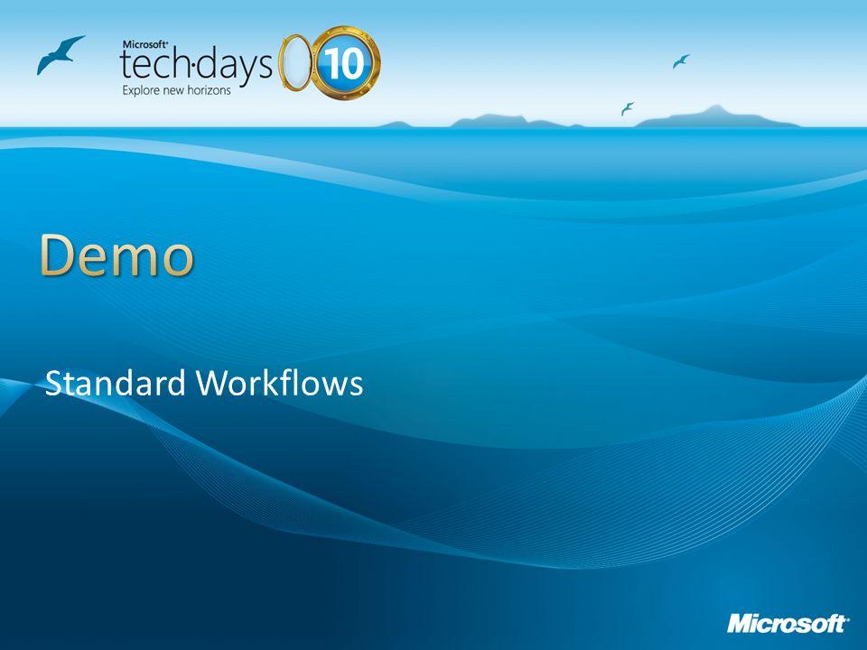 Standard Workflows