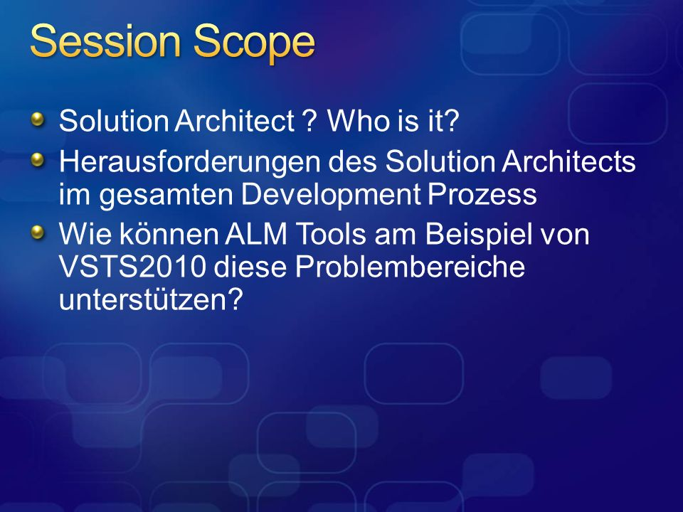 Solution Architect .Who is it.
