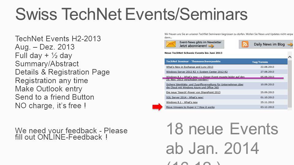 Todays TechNet Seminar Diverses Markus Erlacher, itnetx GmbH Thomas Maurer, itnetx GmbH Handys, Notis bitte aus Bitte Zeiten einhalten, Danke Pausen, WC, Lunch (Platz) Klima, Rauchen Handouts per Email Kontaktform auf Papier Feedback: Web via Email, bitte auch im freien Kommentar schreiben Agenda 09.00 – 10.30 Hyper-V von 0 auf 100 10.30 – 10.45 Pause (15) 10.45 – 12.00 Hyper-V Advanced Features 12.00 – 13.00 Lunch (60) 13.00 – 14.30 Management 14.30 – 14.45 Pause (30) 14.45 – 16.15 VMware-Migration 16.15 Q&A + Ende