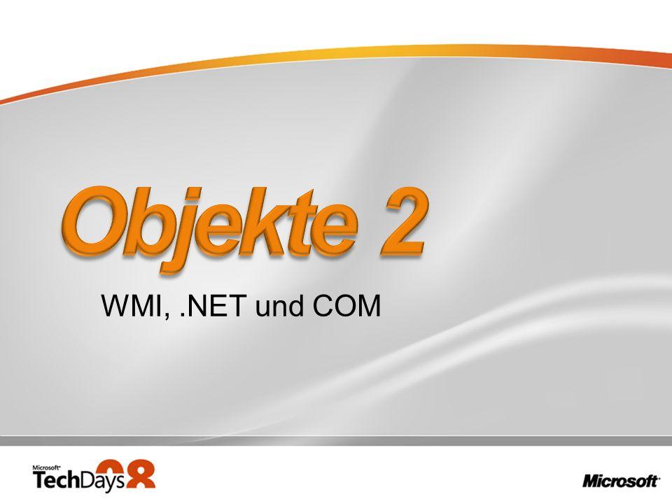 WMI,.NET und COM