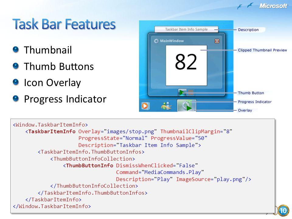 <TaskbarItemInfo Overlay=