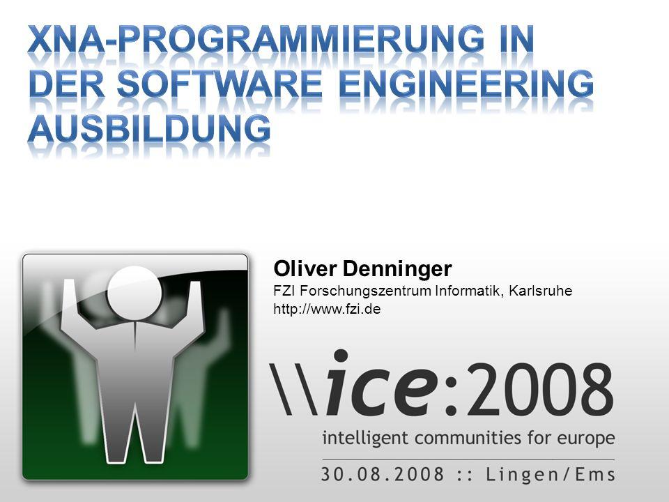 Oliver Denninger FZI Forschungszentrum Informatik, Karlsruhe http://www.fzi.de