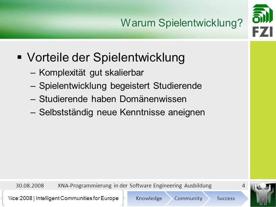 \ice:2008 | Intelligent Communities for Europe Warum Spielentwicklung.