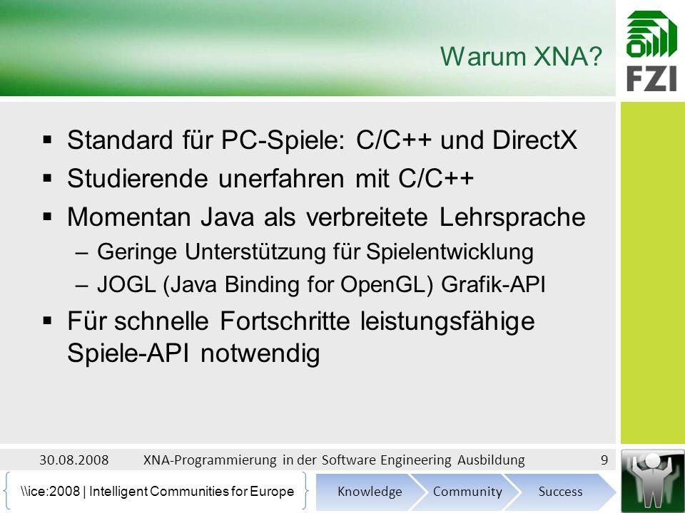 \\ice:2008 | Intelligent Communities for Europe Warum XNA.