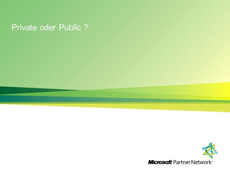 Private oder Public ?