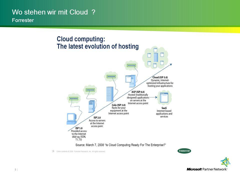 Wo stehen wir mit Cloud ? 5 | Forrester