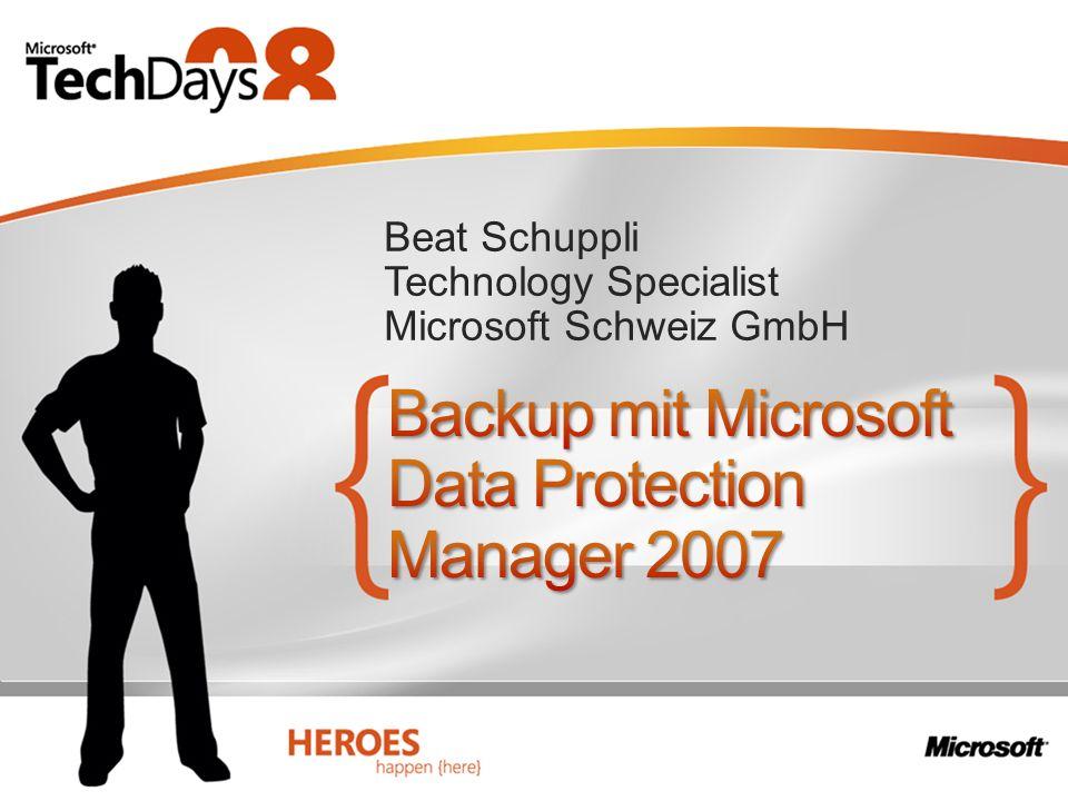 Beat Schuppli Technology Specialist Microsoft Schweiz GmbH