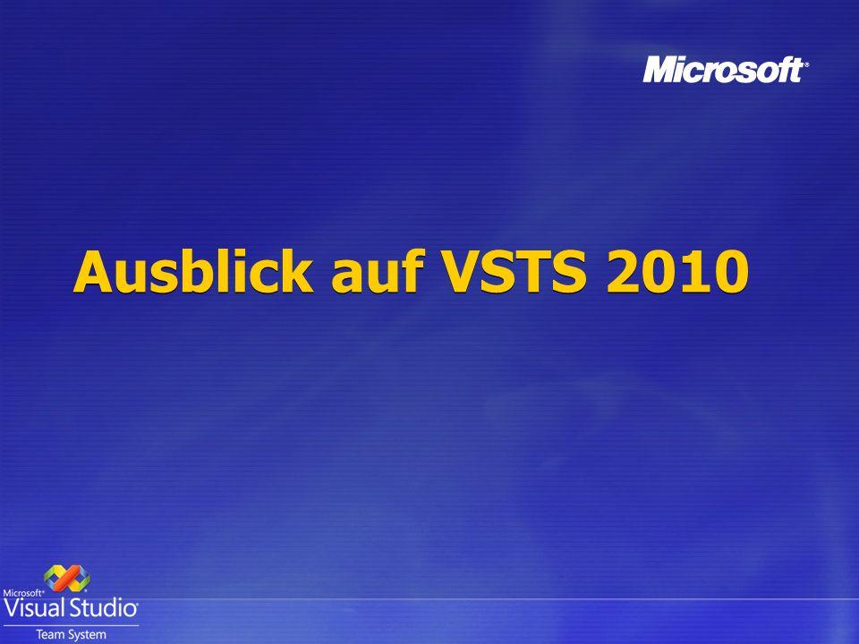 Ausblick auf VSTS 2010