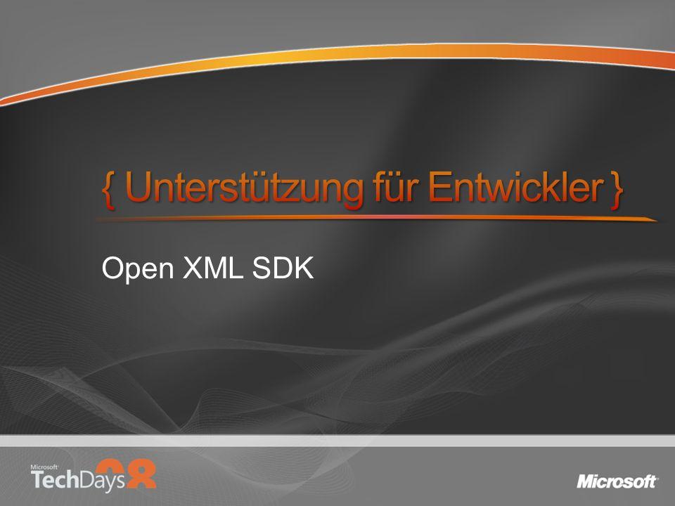 Open XML SDK