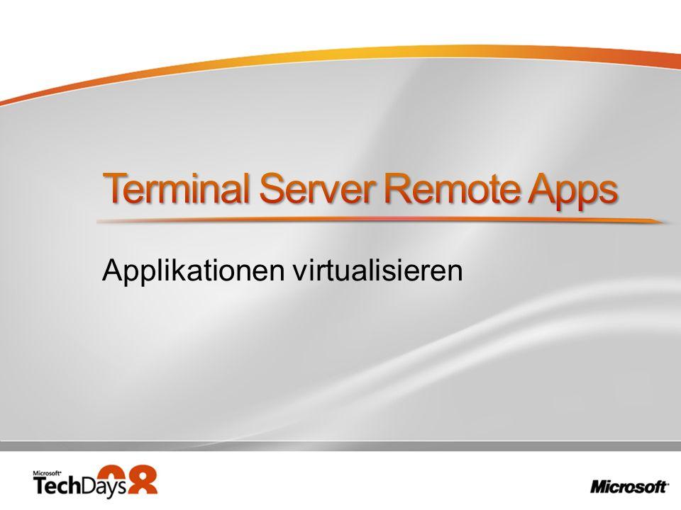 Applikationen virtualisieren