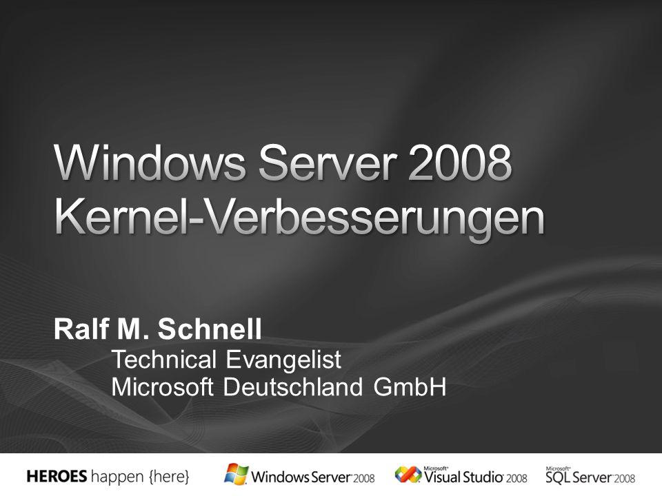 Ralf M. Schnell Technical Evangelist Microsoft Deutschland GmbH