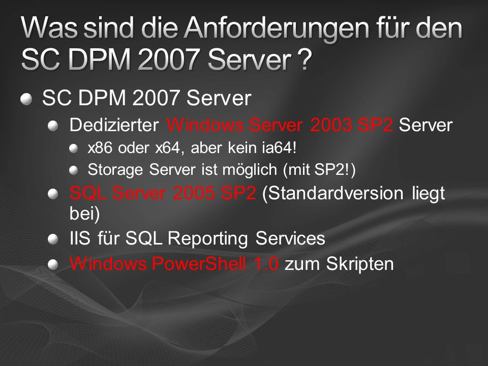 Express Full Tag 2: Resynchronisation DPM ReplicaProduction Server