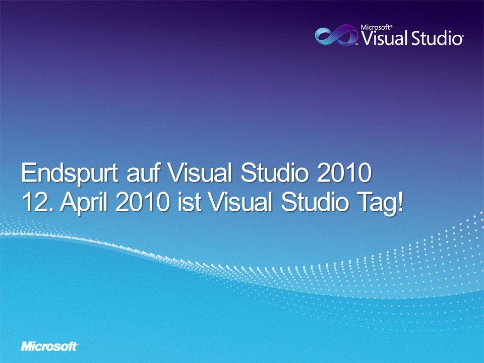 -Launchdatum Visual Studio 2010 = 12.April 2010 -Beta 2 von VS 2010 seit 19.