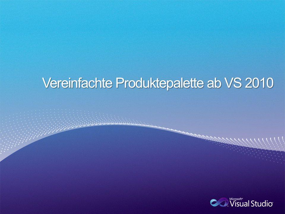 Jetzt VS Pro mit MSDN Prem kaufen und Rollen plus Extras erhalten… Jetzt VSTS Rolle kaufen und Suite plus viele Extras erhalten…