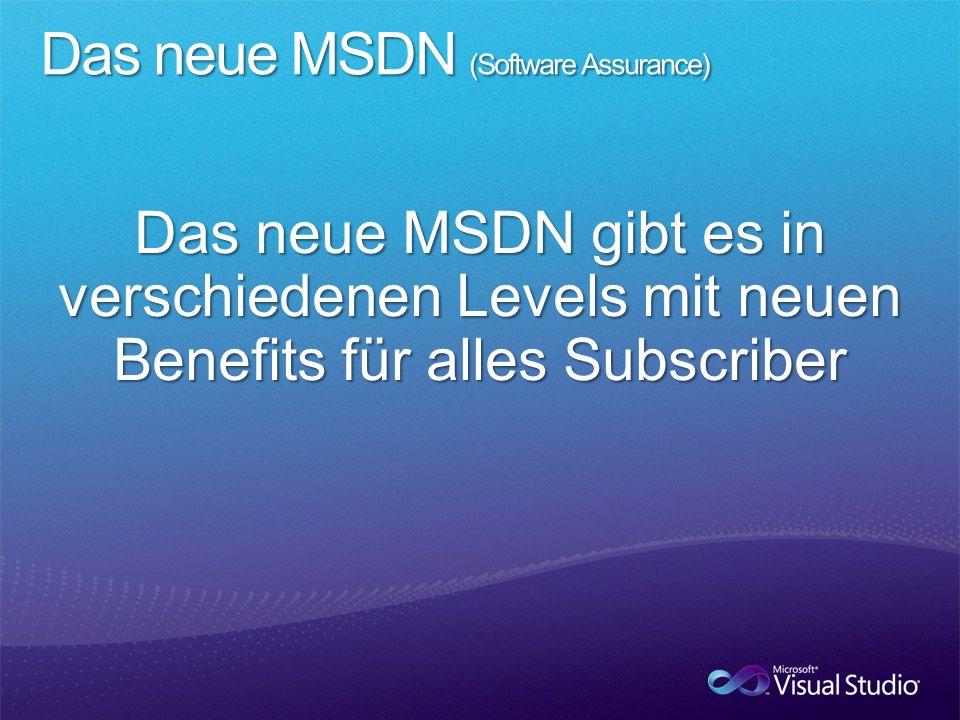 - -Team Foundation Server inkl.