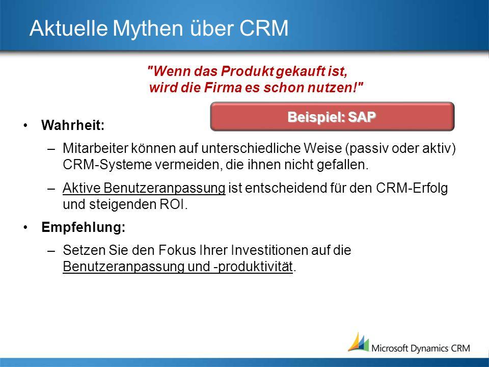 Der CRM-Markt: Anbieteranalyse Oracle & SAP arbeiten an der Stärkung ihrer Marktposition.