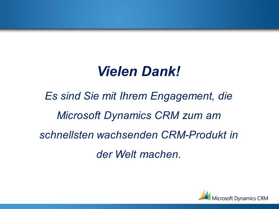 Der CRM-Markt: Kundenbetrachtung Investitionen in CRM sind stetig am wachsen.