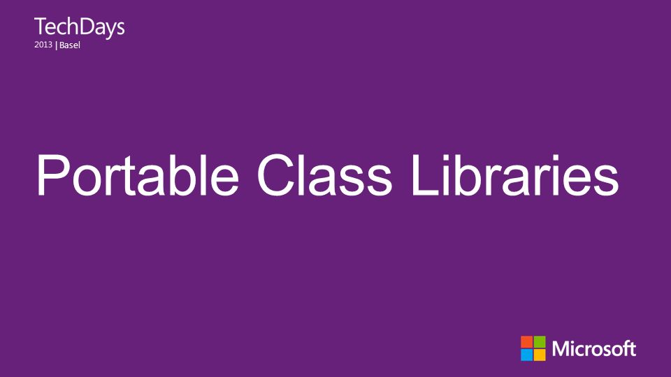 | Basel Portable Class Libraries