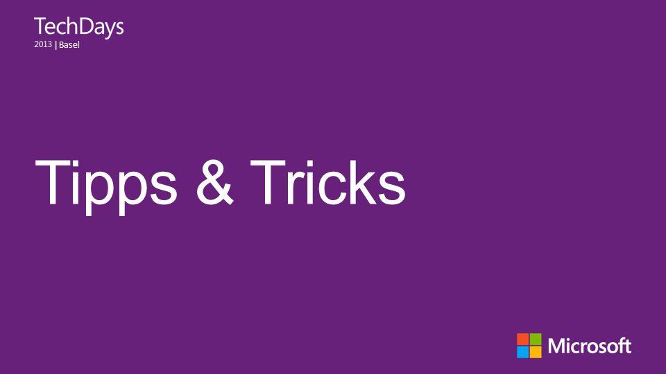   Basel Tipps & Tricks