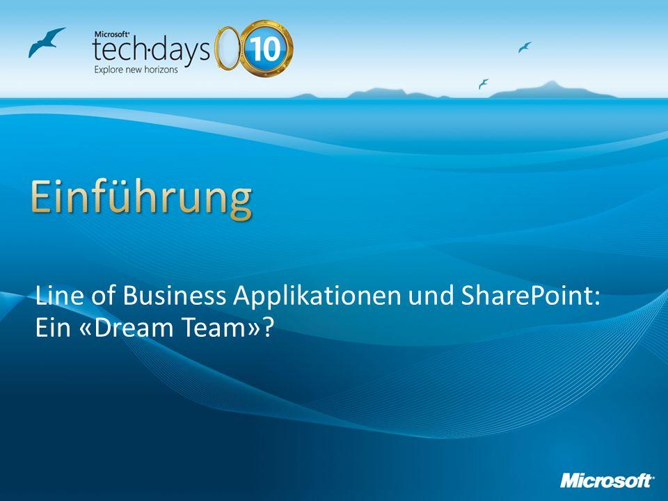 Line of Business Applikationen und SharePoint: Ein «Dream Team»?