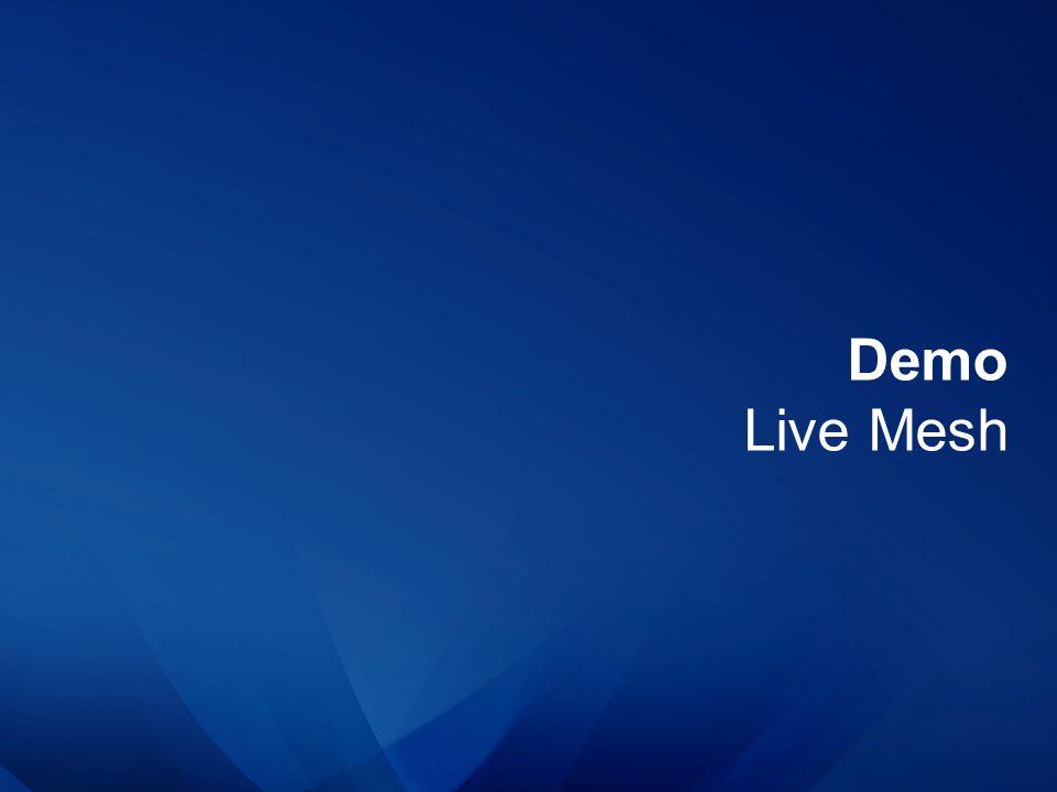 Demo Live Mesh
