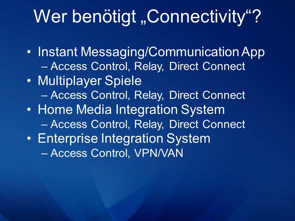 Was muss man tun wenn… …man Anwendungen miteinander integrieren möchte die –in verschiedenen Netzwerken zu Hause sind.