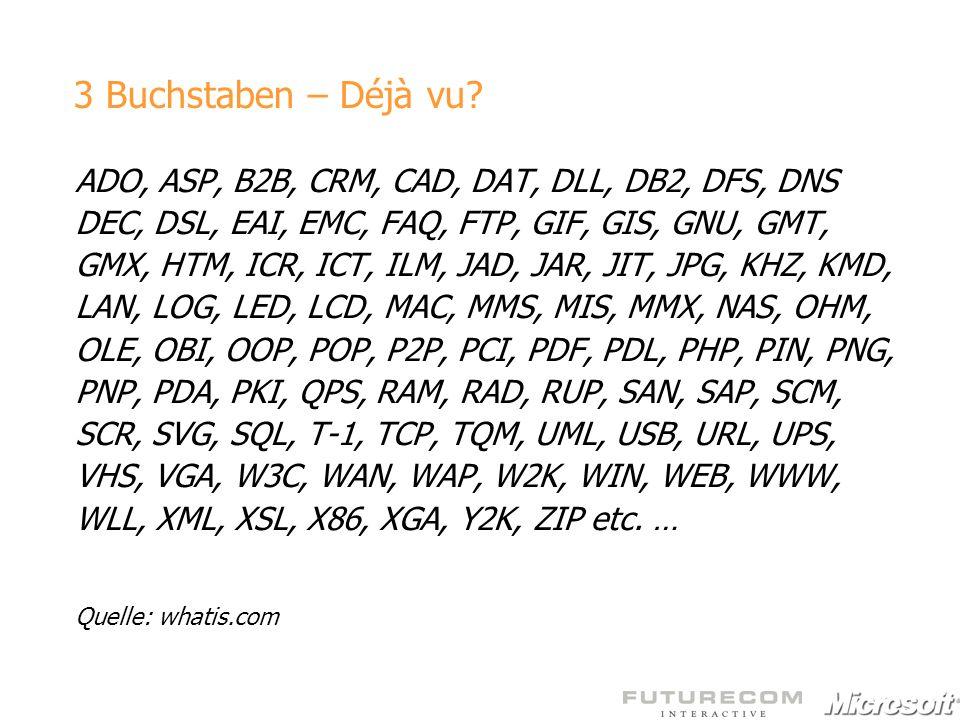 ADO, ASP, B2B, CRM, CAD, DAT, DLL, DB2, DFS, DNS DEC, DSL, EAI, EMC, FAQ, FTP, GIF, GIS, GNU, GMT, GMX, HTM, ICR, ICT, ILM, JAD, JAR, JIT, JPG, KHZ, K