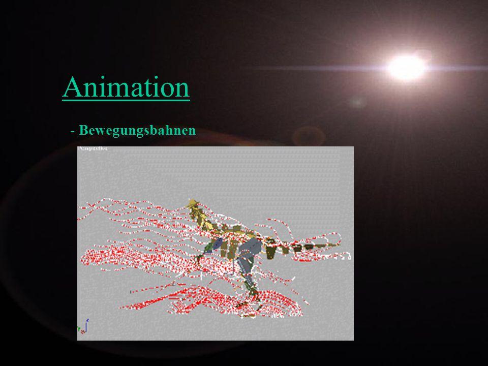 Animation - Bewegungsbahnen