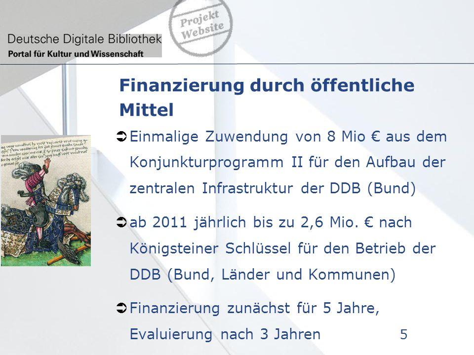 Finanzierung durch Dritte EU-weite öffentliche Ausschreibung ist erfolgt Angebote liegen vor Entscheidung im Herbst 2011 6