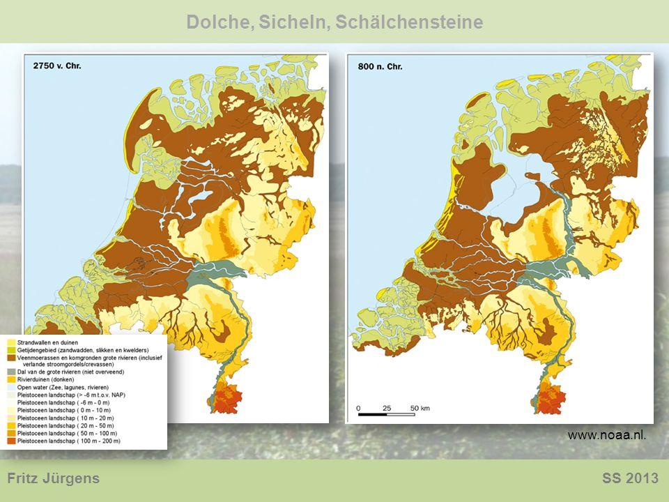 Dolche, Sicheln, Schälchensteine Fritz Jürgens SS 2013 www.noaa.nl.