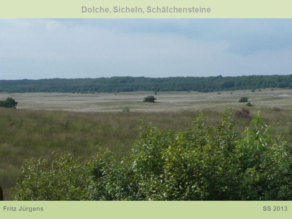 Dolche, Sicheln, Schälchensteine Fritz Jürgens SS 2013