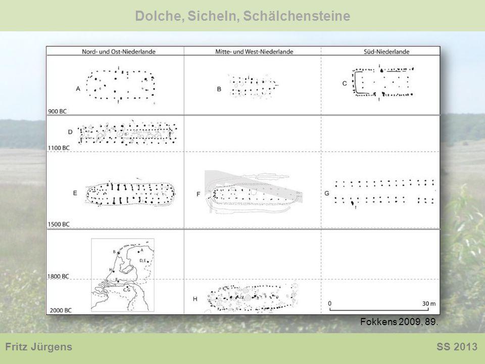 Dolche, Sicheln, Schälchensteine Fritz Jürgens SS 2013 Fokkens 2009, 89.
