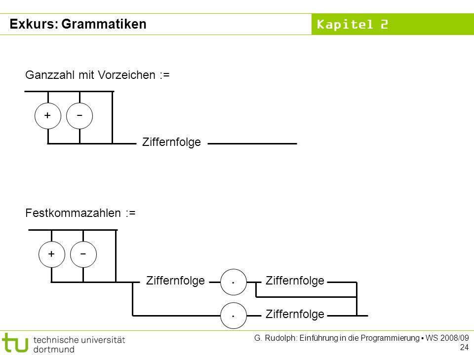 Kapitel 2 G.Rudolph: Einführung in die Programmierung WS 2008/09 25 Grafische vs.