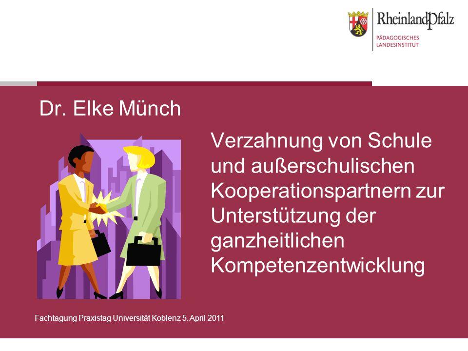 Folie 2Fachtagung Praxistag Universität Koblenz 5.