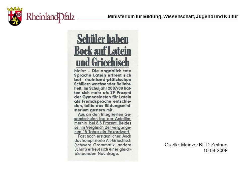 Rechtsgrundlagen www.gymnasium.bildung-rp.de Rechtsgrundlagen / Unterricht/Profil: alte Sprachen A.