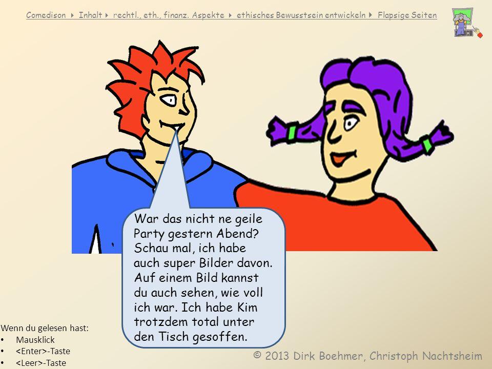 Comedison Inhalt rechtl., eth., finanz.