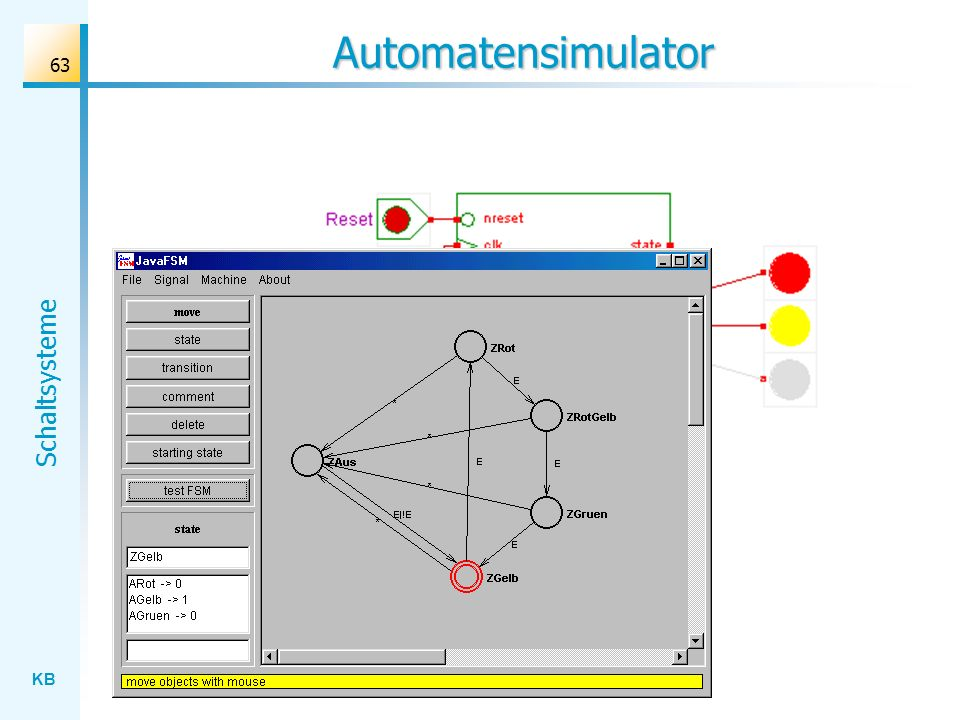KB Schaltsysteme 63 Automatensimulator