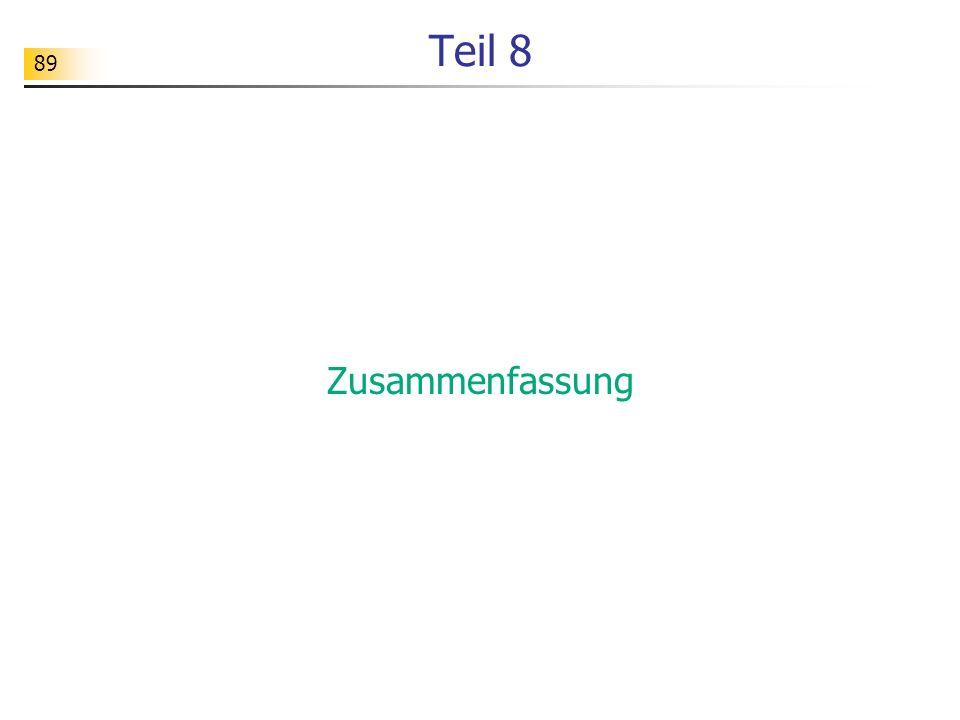 90 Objektorientierung Grundideen Grundkonzepte...
