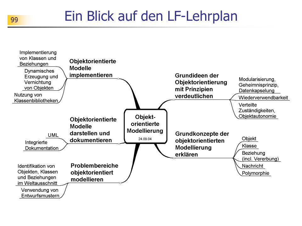 99 Ein Blick auf den LF-Lehrplan