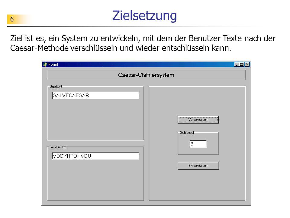 7 Anforderungen /1/ Der Benutzer kann Texte selbst eingeben.