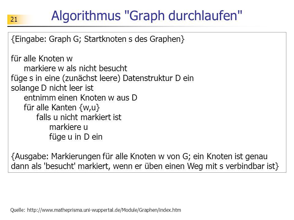 21 Algorithmus