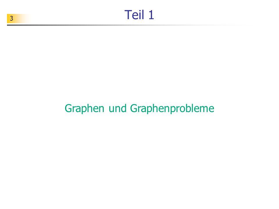 3 Teil 1 Graphen und Graphenprobleme