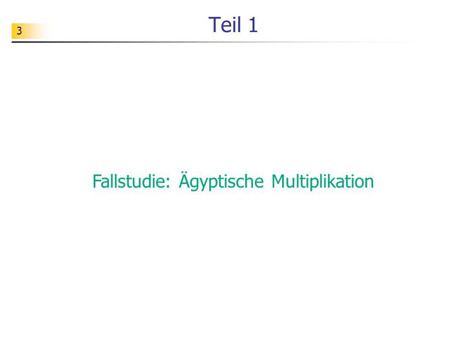 24 Aufgabe Testen Sie das unten abgebildete Programm.
