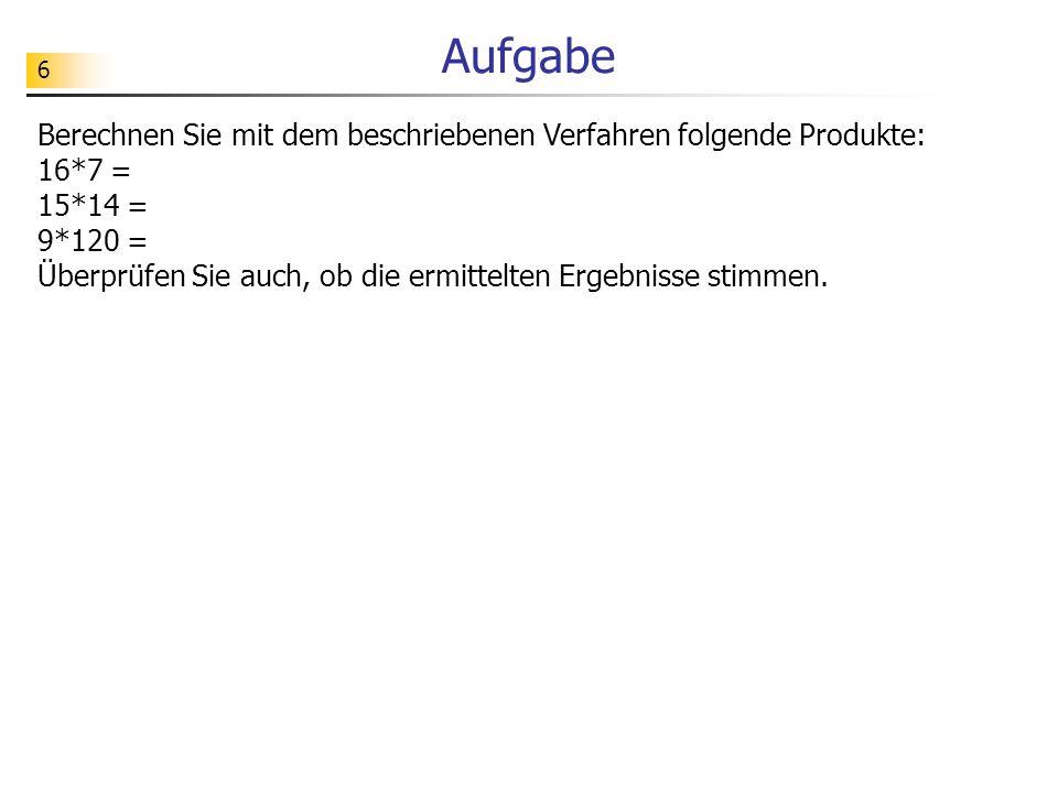 47 Schleifendurchläufe zählen >>> Zahl 1: 768964310867 Zahl 2: 34256 ggt: 1 Schleifendurchlaeufe: 22447622 # ggt1Schleifendurchlaeufe.py def ggt(x, y): z = 0 while y > 0: z = z + 1 if x > y: x = x - y else: y = y - x return x, z if __name__ == __main__ : zahl1 = 768964310867 zahl2 = 34256 (ergebnis, anzahl) = ggt(zahl1, zahl2) print Zahl 1: , zahl1, Zahl 2: , zahl2, ggt: , ergebnis, Schleifendurchlaeufe: , anzahl zusätzlicher Zähler