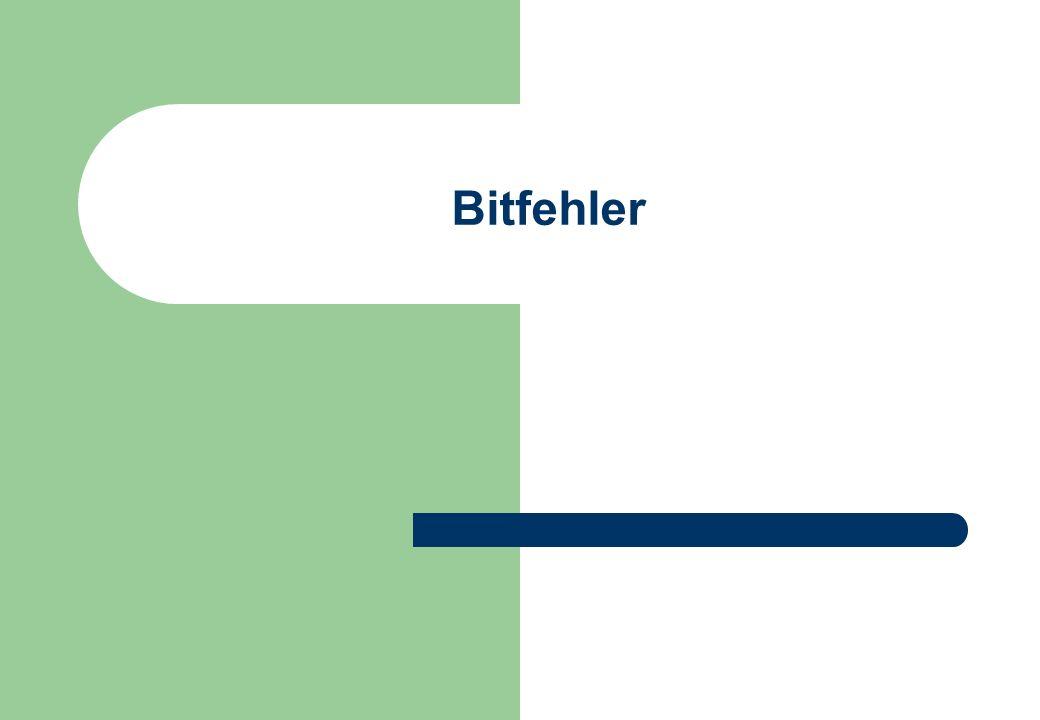 Bitfehler